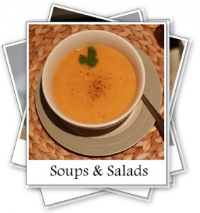 Recipe Index - Soups and Salads - My Weekend Kitchen