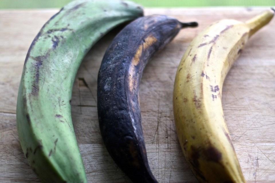overipe plantain
