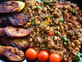 Red in Ghana's red red stew
