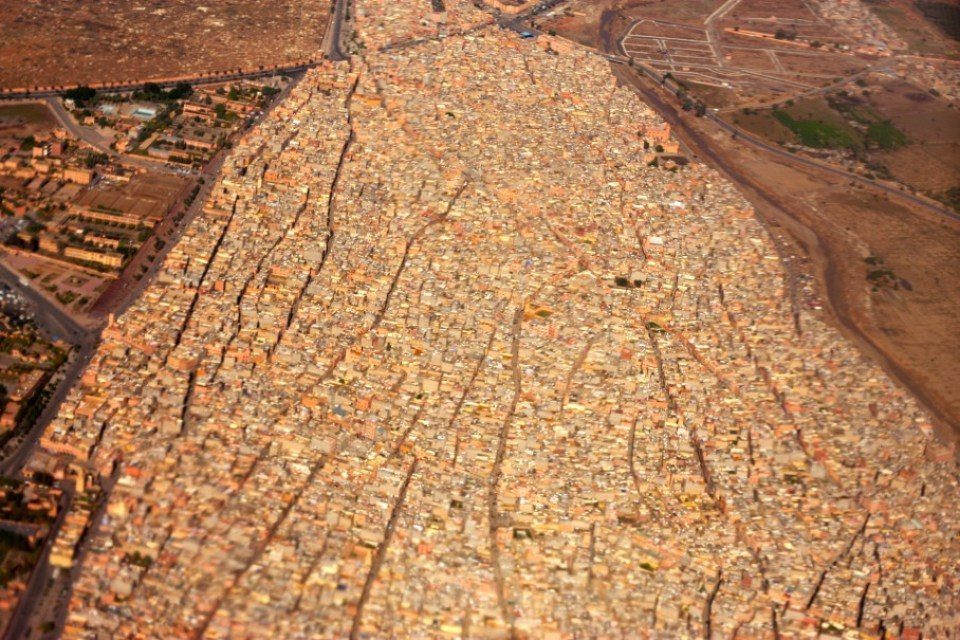 MARRAKESH FROM AIR