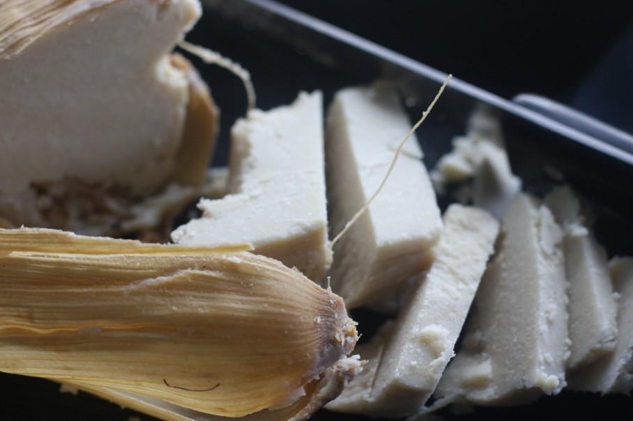 Vanilla flavoured Ice Kenkey
