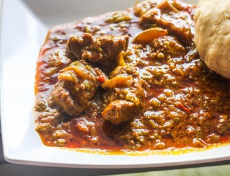 Shut your Okro mouth and enjoy some Banku and Okro Stew