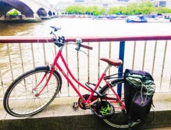 Lone Bicycle Photo Essay: South Bank Centre, London