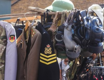 Second hand goods at Portobello Road Market
