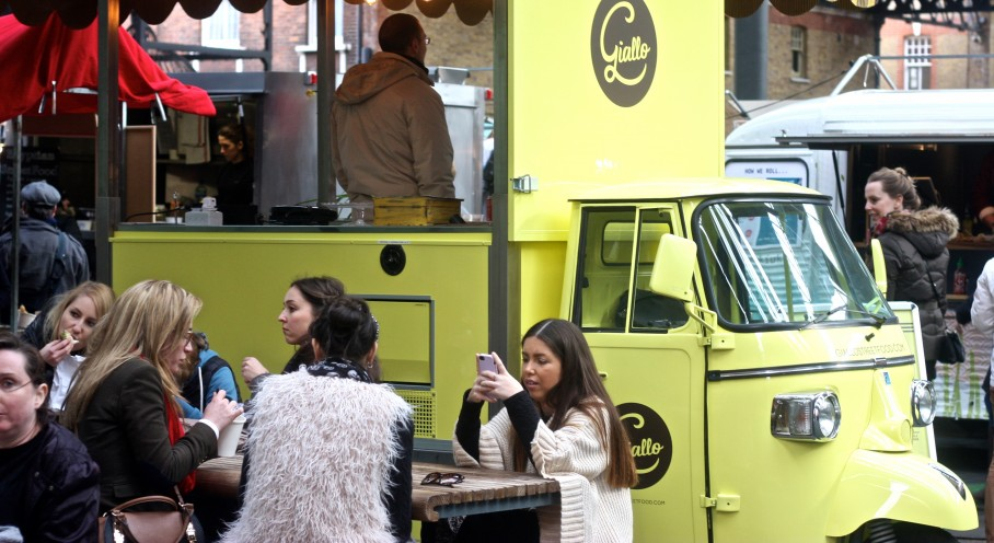 Photo Essay: Gourmet food trucks in London