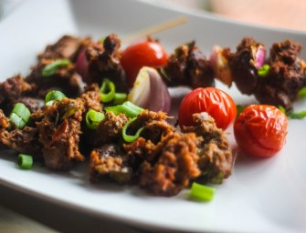 Peppered Stewed Gizzard