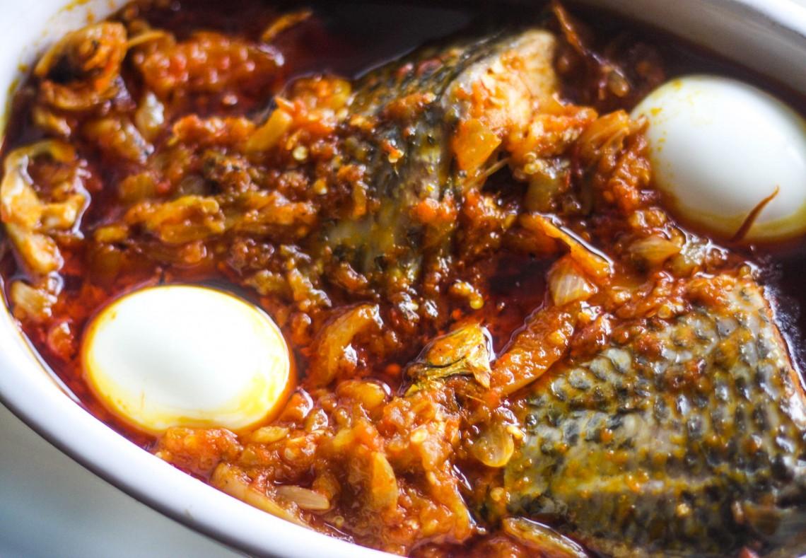 Ghana's garden egg stew