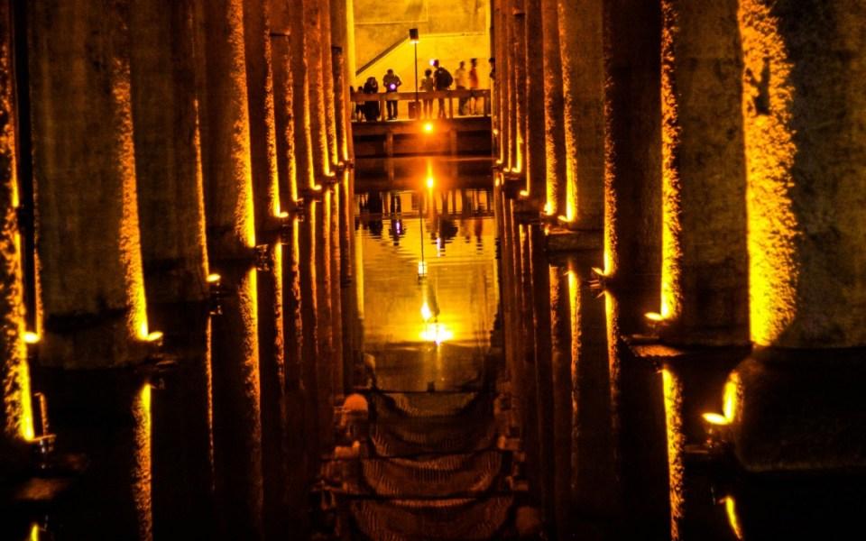 Istanbul's Basilica Cistern in photos