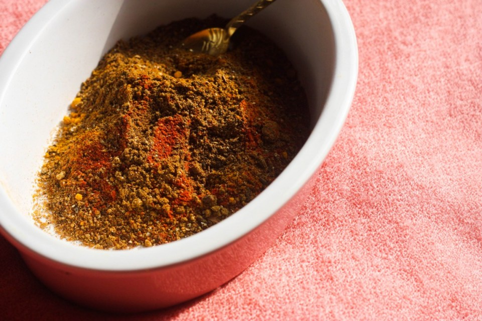 Homemade Berberé Spice Mix
