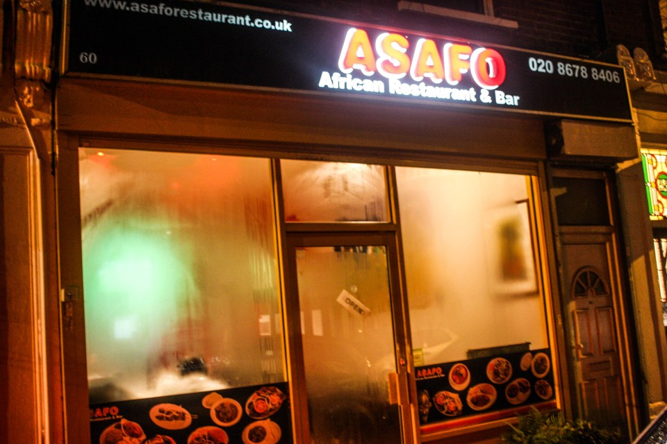 Fooled by Asafo restaurant and bar in Streatham, London