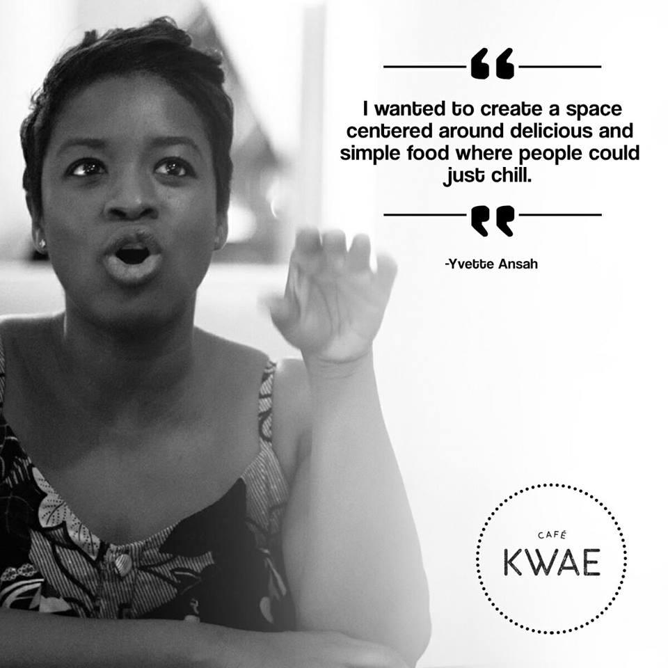 Yvette Ansah Cafe Kwae