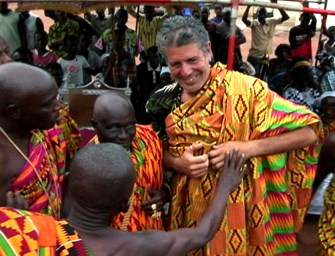Watch Anthony Bourdain experiencing food and culture in Ghana