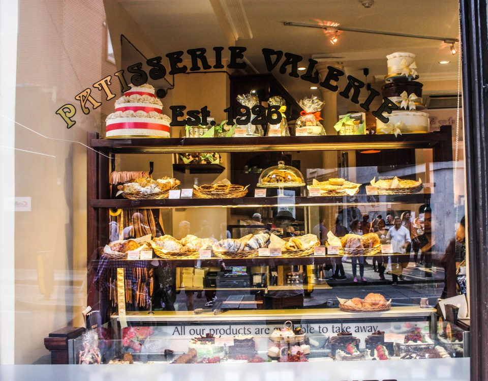 London's Patisserie Valerie is a hit