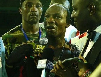"Watch Uganda boxer Kakembo complain after defeat by Ghana's Dogboe: ""Ghana food is full of pepper!"""