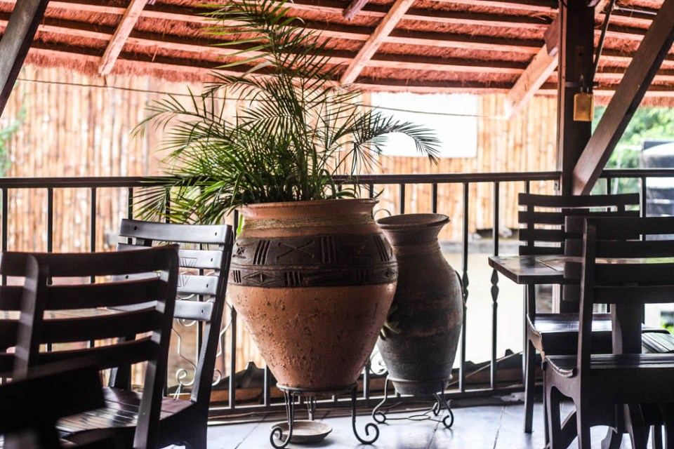 Tayiba restaurant: Beautiful space and architecture