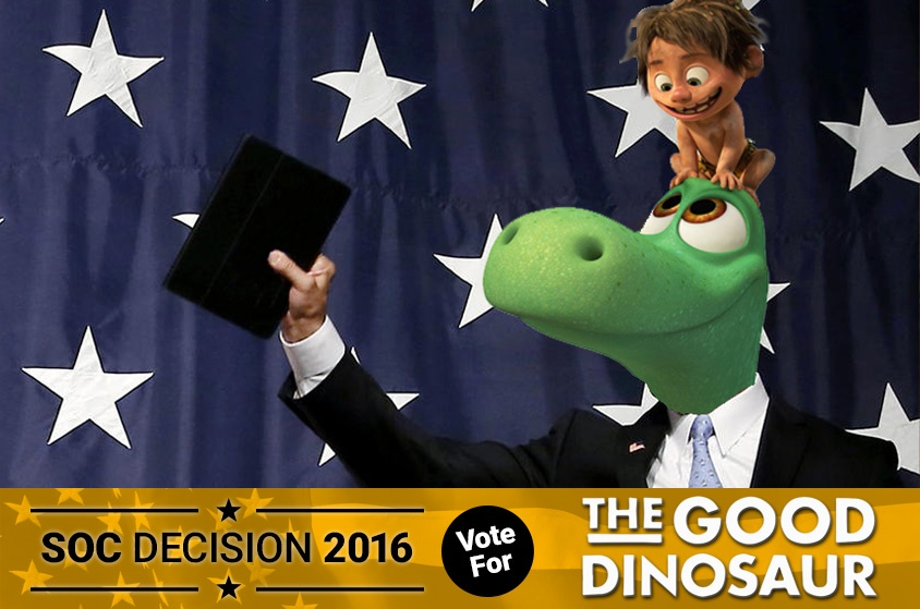 Skyway Outdoor Cinema: Decision 2016 - The Good Dinosaur