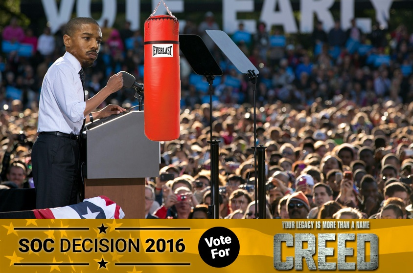 Skyway Outdoor Cinema: Decision 2016 - Creed