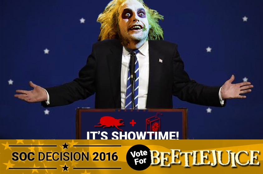 Skyway Outdoor Cinema: Decision 2016 - Beetlejuice