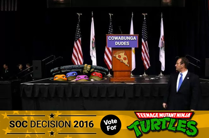 Skyway Outdoor Cinema: Decision 2016 - Teenage Mutant Ninja Turtles