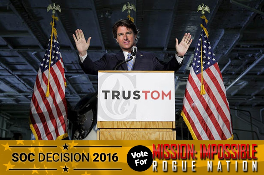 Skyway Outdoor Cinema: Decision 2016 - Mission Impossible: Rogue Nation