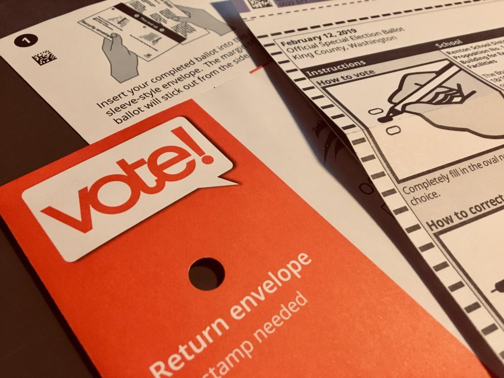 King County Elections - February 2019 Special Ballot