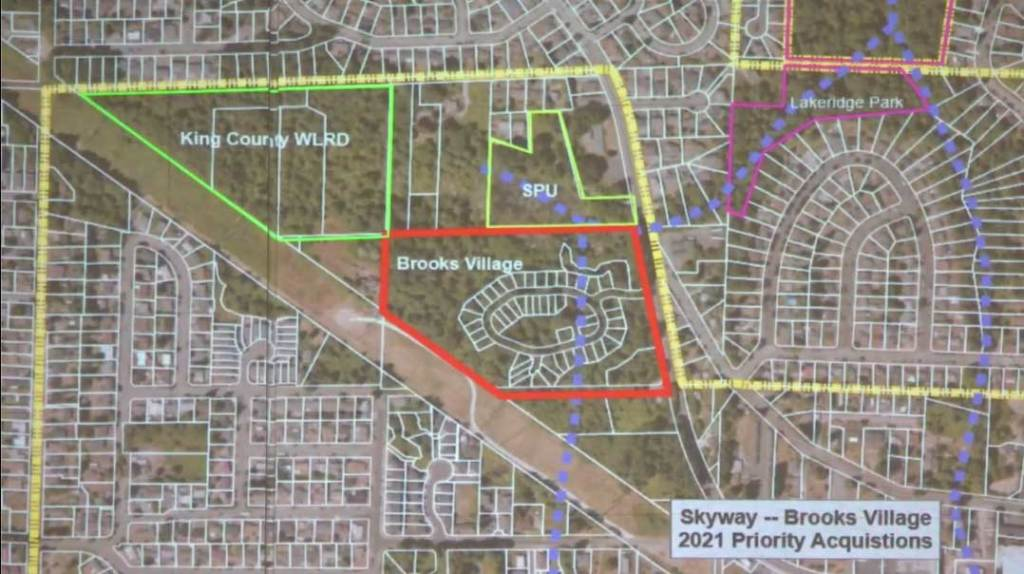 King County Parks Brooks Village Skyway Potential Acquisition 2020