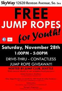 Free Jump Ropes for Youth @ Little Steamers Academy | Seattle | Washington | United States