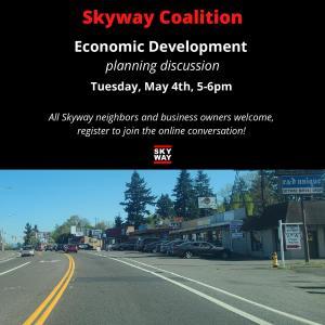 Skyway Coalition Economic Development planning discussion @ Zoom | Seattle | Washington | United States