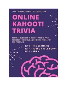 Free Online Kahoot! Trivia @ Online | Seattle | Washington | United States