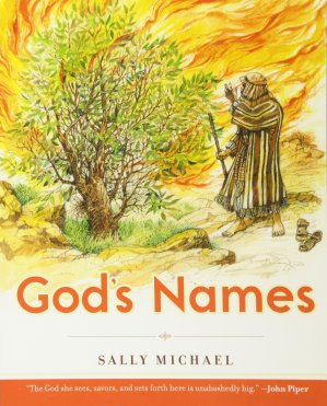 God's Names by Sally Michael  When you want to get to know someone, where do you start? How do you introduce yourself? Usually you start with someone's name. God knows this—and he doesn't have just one name to share with us! The Bible gives us many names for God and tells us what they all mean. And when we learn a new name for God, we learn something new about him, too! This book is for parents and children to read together. Every chapter includes questions for family discussion and an activity.