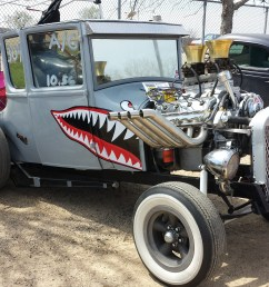 this model t ford is a mixture of gasser and rat rod it s mostly for [ 4128 x 2322 Pixel ]