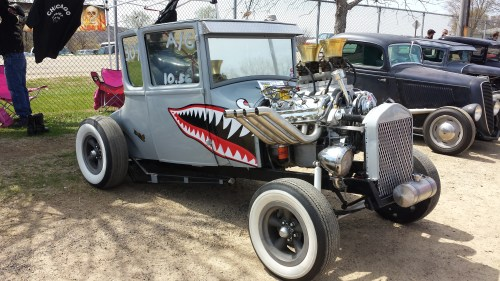 small resolution of this model t ford is a mixture of gasser and rat rod it s mostly for