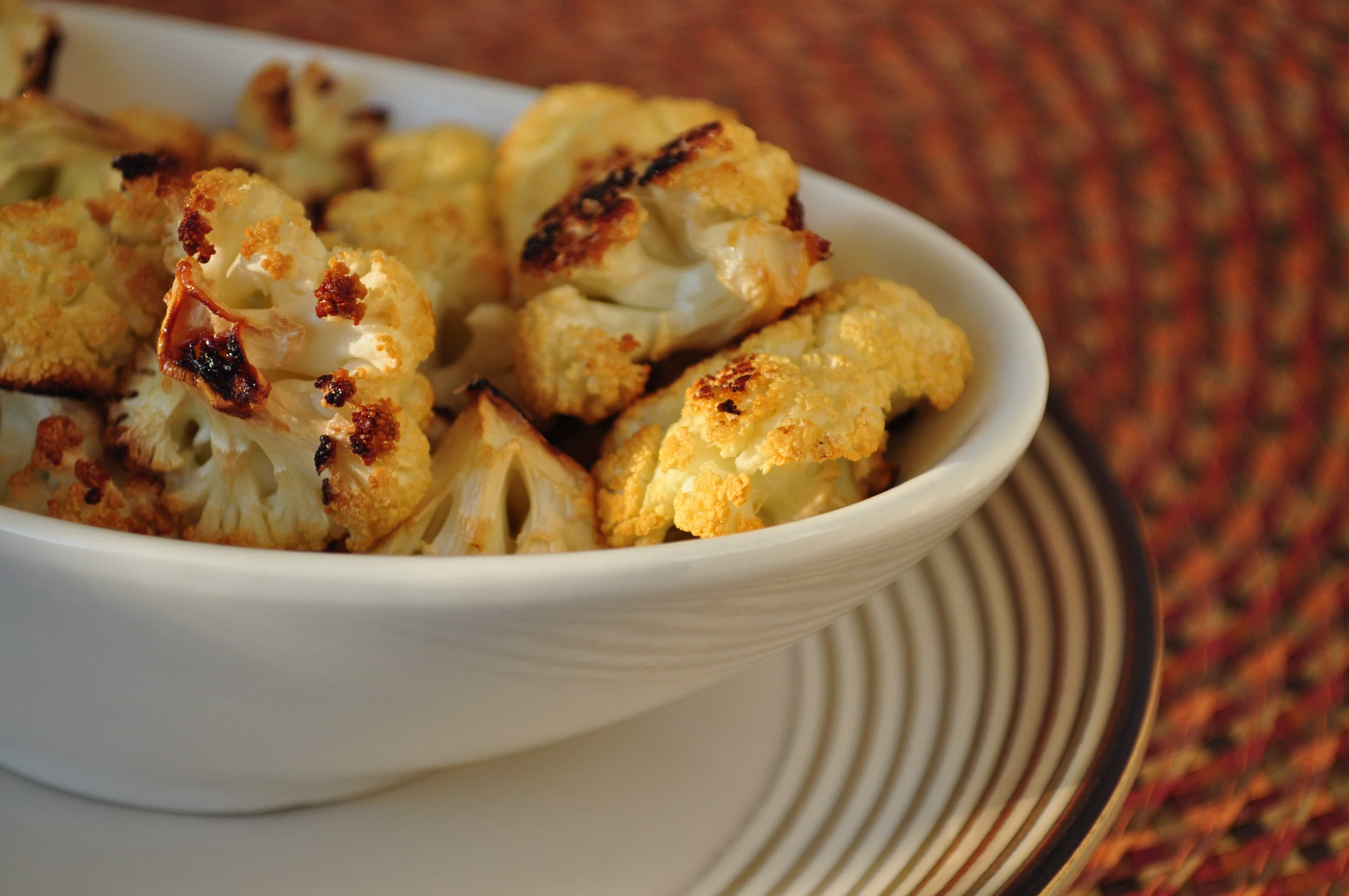 Cauliflower Popcorn aka Seriously Addictive Snack