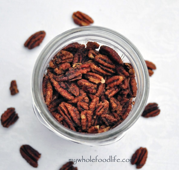 Maple Glazed Pecans - My Whole Food Life