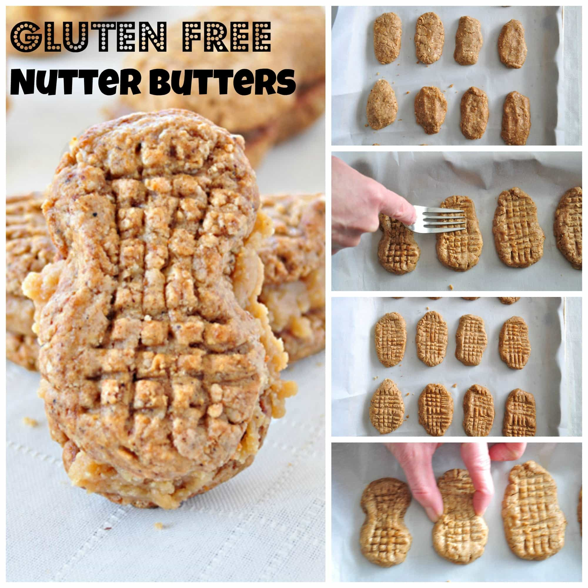 Gluten Free Homemade Nutter Butters - My Whole Food Life