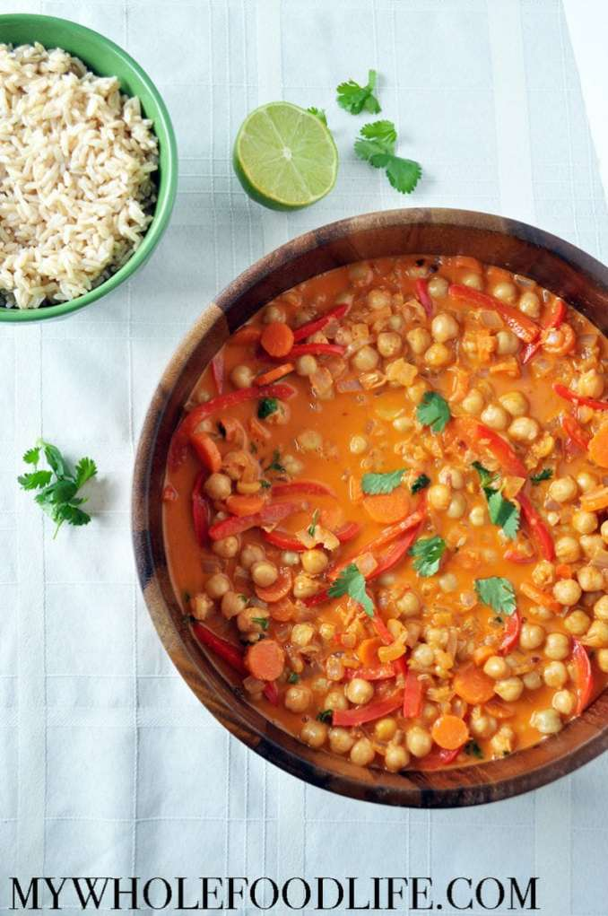 Thai Chickpea Curry - My Whole Food Life