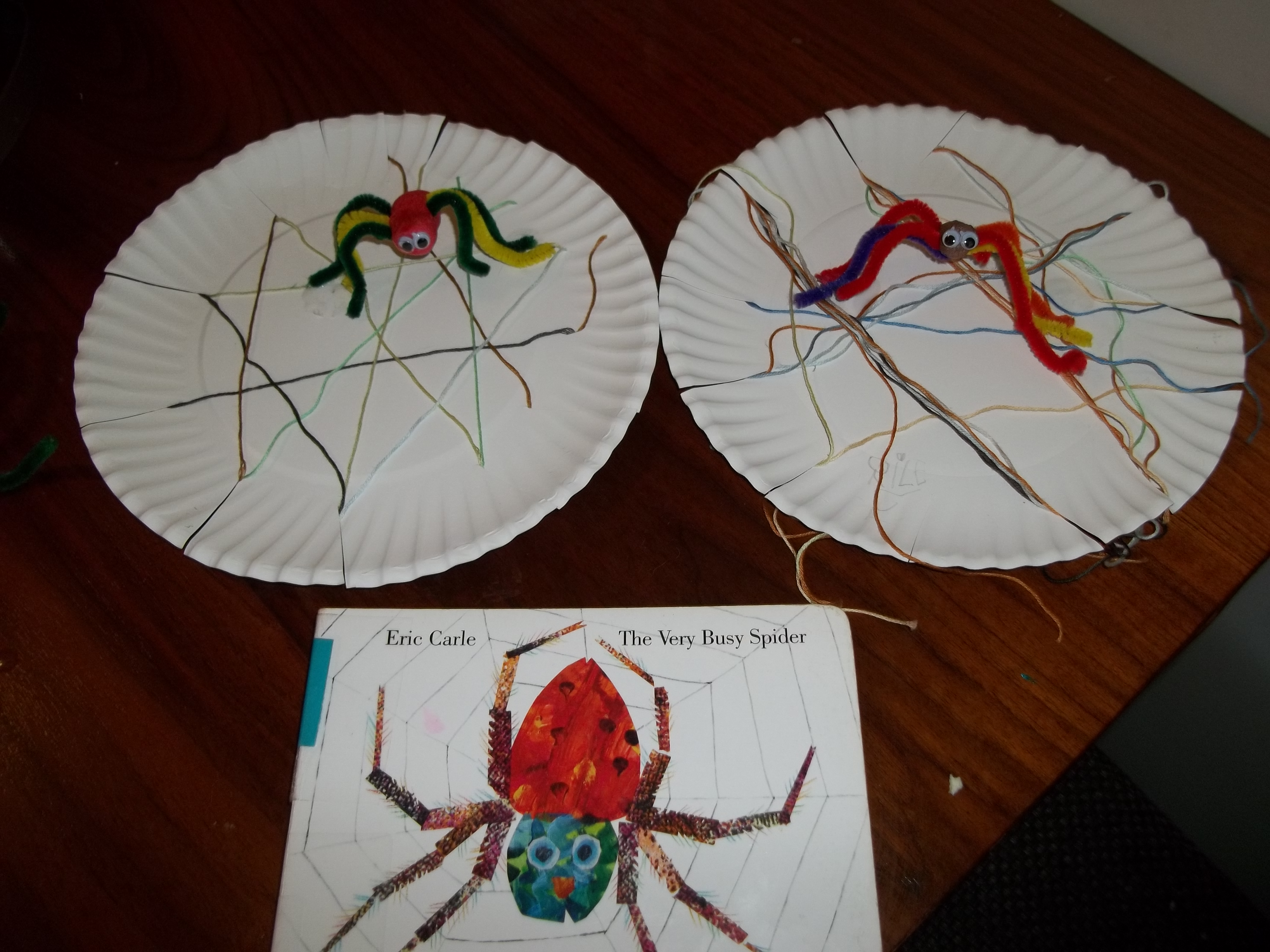 Preschool Activity The Very Busy Spider Make Your Own