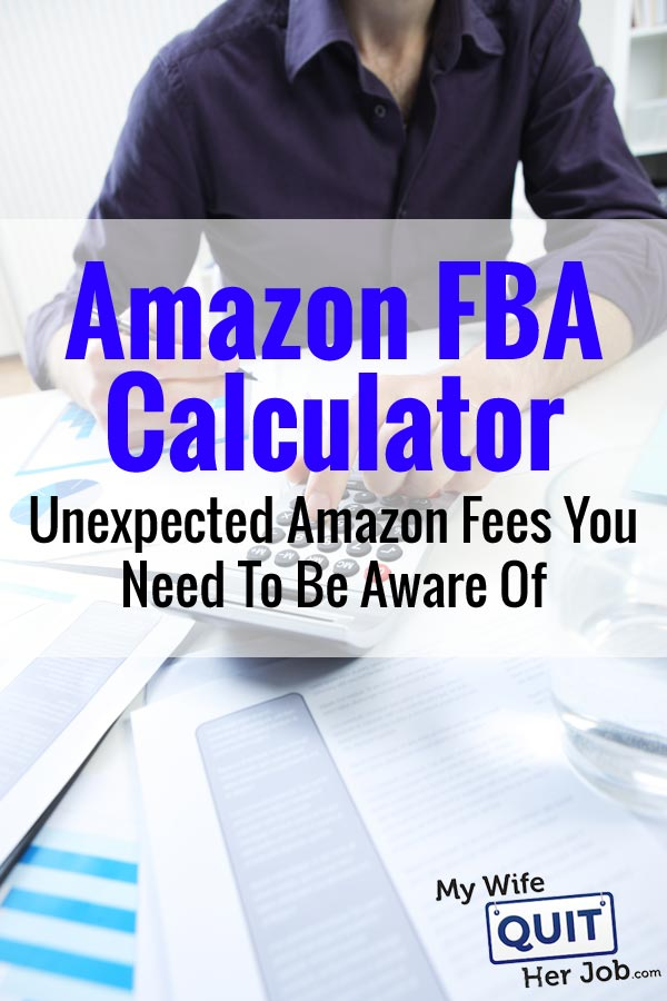 amazon fee fba calculator
