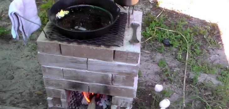 """Jak zbudować """"piec rakietowy"""" #Wideo"""
