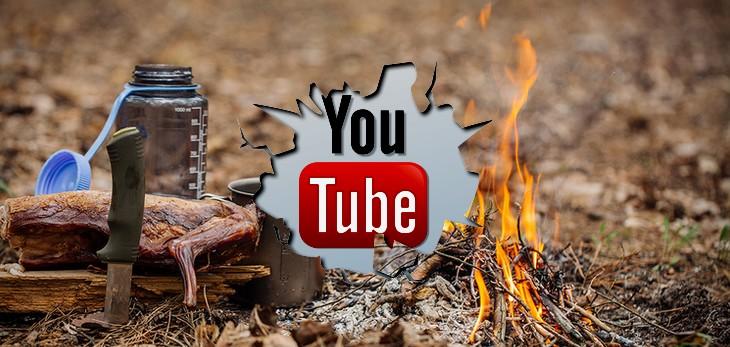 Survival i bushcraft na Youtube #co oglądać?