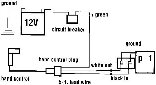 mile marker hydraulic winch wiring diagram