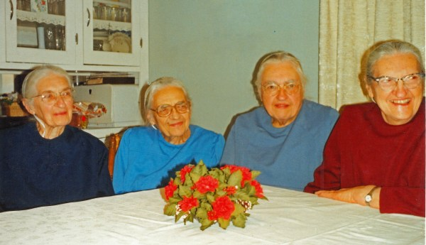 The aunts from whom I learned.