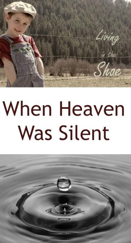 Pinterest When Heaven Was Silent