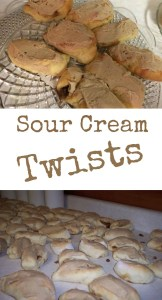 sour cream twists