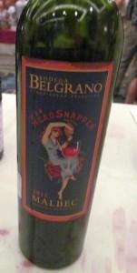 Bodega Belgrano Its a Headsnapper Malbec 2011