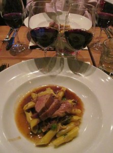 Brome duck with the Lodi and Sonoma Old Vines Zinfandel