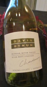 Davis Bynum Russian River Valley Chardonnay 2010