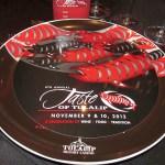 Taste of Tulalip plate at Celebration Dinner