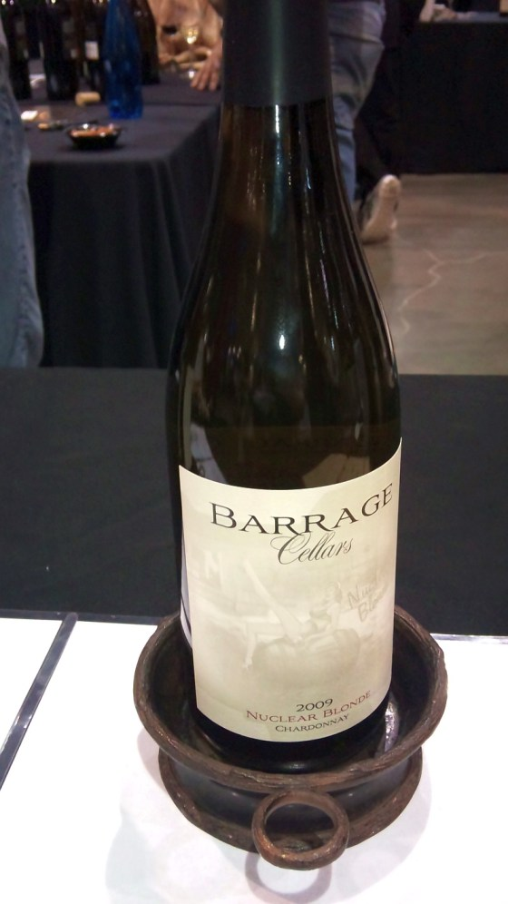 Barrage Cellars Nuclear Blonde Chardonnay 2009