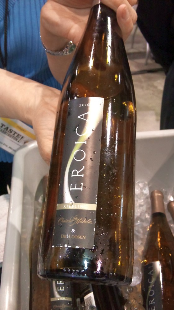 Chateau Ste Michelle and Dr Loosen Eroica Riesling 2010